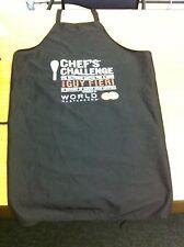 USED GUY FIERI CHEF'S CHALLENGE CHARITY TEAM APRON TORONTO 2013 BLACK X-LARGE