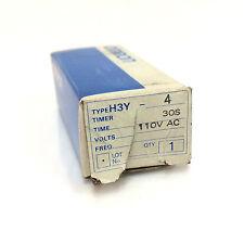 Temporizador H3Y4 Omron H3Y-4-110VAC-30S