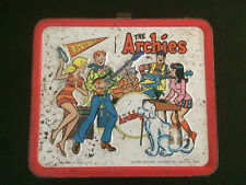 THE ARCHIES Vintage 1969 Lunch Box with Thermos