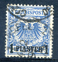 GERMANY LEVANT OFFICE IN TURKEY Mi # 8 a Used VF