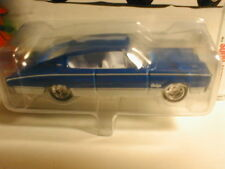 2004 Hotwheels HOLIDAY RODS #1  1967 DODGE CHARGER blue   Larry Wood designs