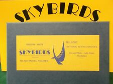 Skybirds Models. Set No3  National Flying Services.