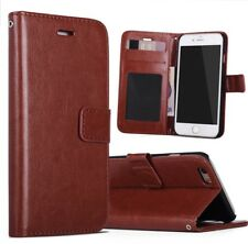Leather Phone Plus Case Wallet  For I Phone 7 & 8 Plus *FAST SHIP FROM TEXAS*