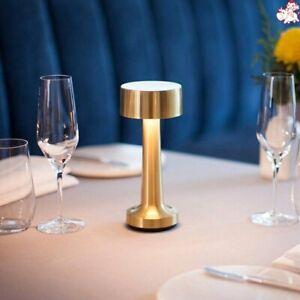 LED Cordless Bar Table Lamps Rechargeable Battery Creative Café Restaurant Light