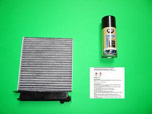 Innenraumfilter / Aktivkohle Pollenfilter + Klimareiniger Dacia Logan I