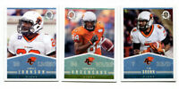 2014 OPC CFL BC Lions Lot of 3 Cards Tim Brown, Emmanuel Arceneaux, Jamall Johns