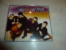 BACKSTREET BOYS - As Long As You Love Me - 1997 UK 4-track CD Single