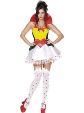 Sexy Fever Queen Of Hearts Costume SALE * UK M 12/14 Ladies Fancy Dress