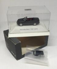 VTG Mercedes-Benz Collection CLK Cabrio 1:87 Model Convertible In Box Germany
