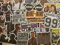 Brooklyn 99 Stickers Nine Nine Perolta 20/50 Scrapbooking Decal Cardmaking