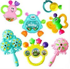 7pcs/Lot Infant Baby Toys Rattles newborn baby Developmental Baby Toys3
