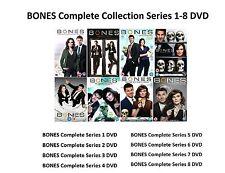 BONES Complete Collection 1-8 DVD Box Set All Season 1 2 3 4 5 6 7 8 UK Release