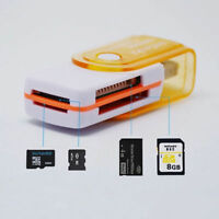 4 in 1 USB Memory Card Reader Adapter for MS MS-PRO TF Micro SD High Speed New