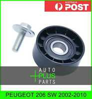 Fits PEUGEOT 206 SW 2002-2010 - Idler Tensioner Drive Belt Bearing Pulley