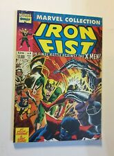 MARVEL COLLECTION nr 4  IRON FIST  COMIC ART 1992  CLAREMONT / BYRNE