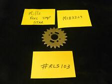 MILLS REPRO REEL STOP STAR FOR MILLS ANTIQUE SLOT MACHINE MLB3329 #RLS103