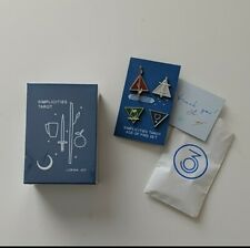 Simplicities Tarot Card Deck   First Edition   Kickstarter   Minimalist