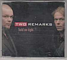 TWO REMARKS  -  Hold on tight  -- NEU + OVP -