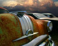 Classic Car Wall Art - Vintage Pontiac Chieftain Hood Ornament 8 x 10 Photo