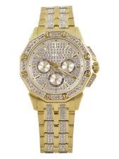 Bulova Men's Crystal 98C126 Gold Swarovski Chronograph Analog Watch