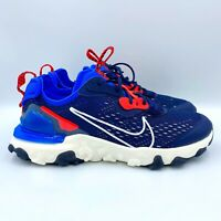 "New Youth Nike React Vision GS ""Midnight Navy"" Running Shoes Size 7Y  CD6888-400"