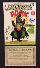 BACK ISSUE Comic Book Magazine #91 SIGNED Giffen & Maguire COA All Jerks Issue