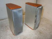 Denon SC-A3L Great Small Speakers-Superb Sound-Metal Bodies
