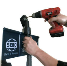 Sebo Vacuum Cleaner Drill Dust Catcher Tool - Removes Dust While Drilling - DIY