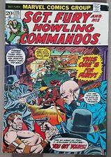SGT. FURY AND HIS HOWLING COMMANDOS 1973 MARVEL COMIC BOOK VOL. 1, NO. 115