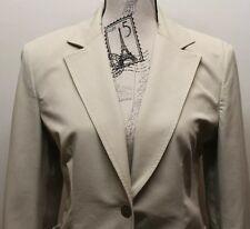 Tommy Hilfiger Beige Women Blazer One Button Size 10