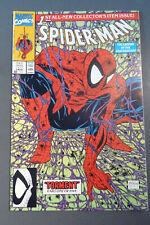 Spiderman comic book - green edition, Torment, Vol. 1, #1, Aug 1990, mint