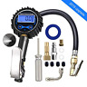 JYSW Digital Tire Inflator Pressure Gauge, 200PSI Heavy Duty Air Chuck and with