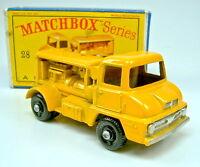 """Matchbox RW 28B Compressor Truck in feines Radprofil top in """"D"""" Box"""