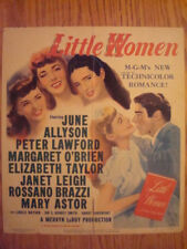 1949 LITTLE WOMEN  MOVIE WINDOW LOBBY CARD POSTER