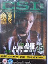 CSI Season 3 Ep 3 Let the Seller Beware Ep 4 Little Murder (DVD) New Sealed PAL