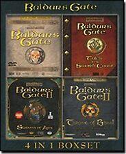 Baldur's Gate 4 in 1 Boxset PC NEW!