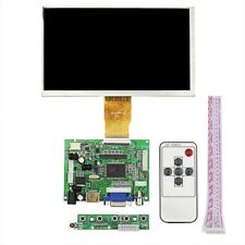 "7inch 7"" Raspberry Pi 3 LCD TFT Display HDMI VGA Monitor Screen  Remote control"