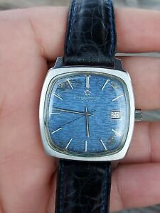 Eterna - Matic 2002 Blue dial men watch 35mm cal 12824