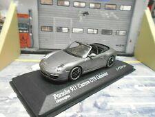 PORSCHE 911 997 II Carrera GTS Cabriolet Cabrio 2011 grau grey Minichamps 1:43