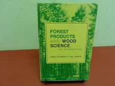 Forest Products And Wood Science  HC 1985  Haygreen & Bowyer