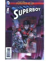 SUPERBOY      FUTURES END 1  3D COVER    NEW 52  DC COMICS
