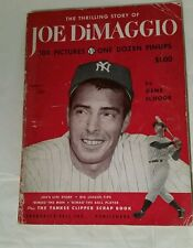 Baseball, Yankees  -The Thrilling Story Of Joe DiMaggio (1950) First Printing!