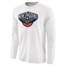 New Orleans Pelicans Fanatics Primary Logo L/S T-Shirt SZ:XL ZION WILLIAMSON NBA