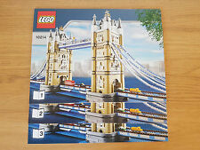 LEGO SCULPTURES - 10214 Bridge-Solo Manual De Instrucciones Tower