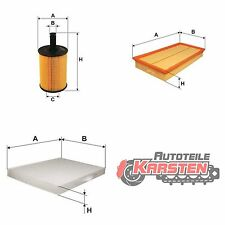 Set M: Innenraumfilter+Ölfilter+Luftfilter Inspektionsset AUDI SEAT VW