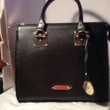 Vesace 19v69 ABBIGLIAMENTO SPOTYIVO SRL BLACK Satchel Handbag LARGE