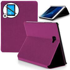 MORADO CARCASA TIPO CONCHA Smart Funda Samsung Galaxy Tab A 10.1 Pantalla Prot