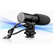 3.5mm Digital Video Professional Studio / Stereo Recording Camera Microphone