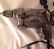 """Vintage Mall Tool Company Chicago Mall Electric Drill 143T w/Chuck Key 1/4"""""""