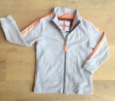 Mini Boden 5-6 yrs boy long-sleeved jacket cardigan zipped jumper top grey